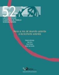 Menos es más: del desarrollo sostenible al decrecimiento sostenible ...