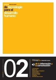 de tecnología para el desarrollo humano - Biblioteca Hegoa