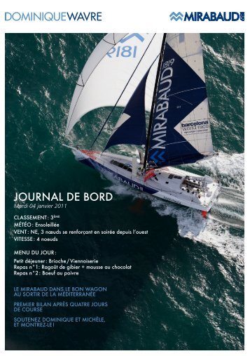 journaL de bord - Dominique Wavre