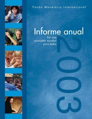 Informe anual 2003 - Biblioteca Hegoa