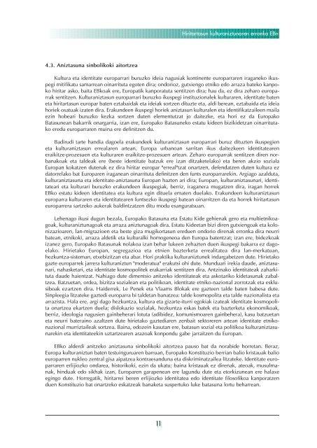 INTEGRAZIOA ETA ANIZTASUNA NOLA ... - Biblioteca Hegoa