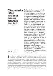 China y América Latina: estrategias bajo una ... - Biblioteca Hegoa