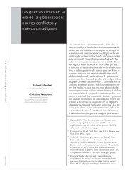 Las guerras civiles en la era de la globalización ... - Biblioteca Hegoa