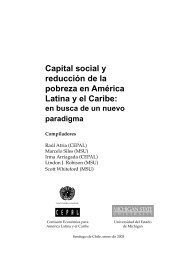 Capital social y reducción de la pobreza: en ... - Biblioteca Hegoa