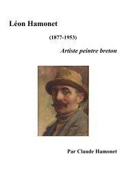 Léon Hamonet (1877-1953) Artiste Peintre breton - Claude HAMONET