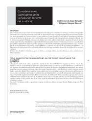 Consideraciones cuantitativas sobre la evolución ... - Biblioteca Hegoa