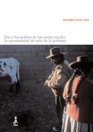 Dar a los pobres de las zonas rurales la ... - Biblioteca Hegoa