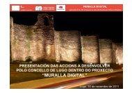 """""""MURALLA DIGITAL"""" - Concello de Lugo"""