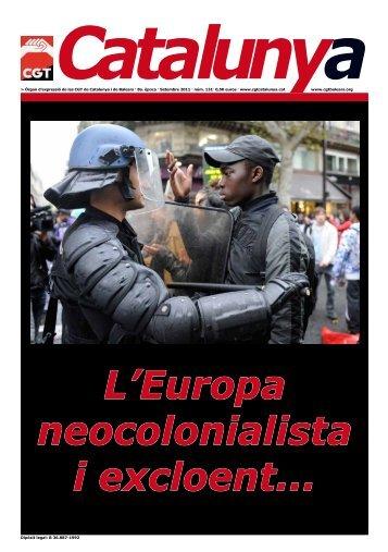Òrgan d'expressió de les CGT de Catalunya i de ... - Rojo y Negro
