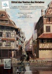 Vente aux Enchères - Strasbourg Enchères