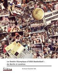 Le Destin Olympique d'USA Basketball - Basketevolution.com