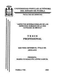 aspectos internacionales de los derechos humanos en la vida ...