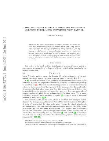 arXiv:1106.5272v1 [math.DG] 26 Jun 2011