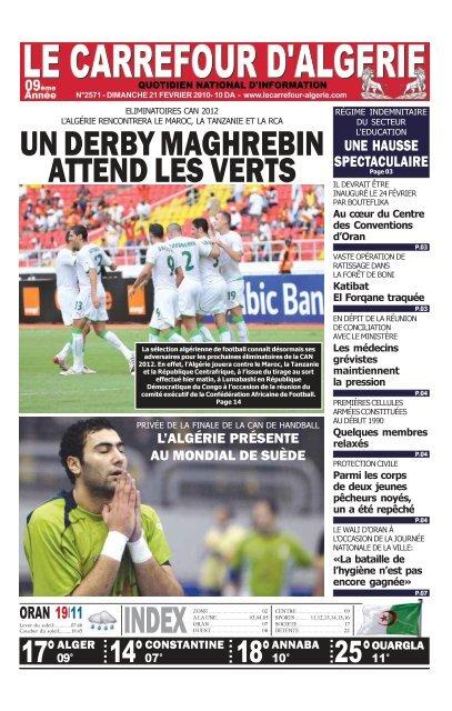 21 Le Carrefour Dalgérie