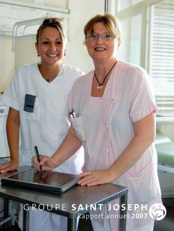 Consultez le Rapport 2007 - Hôpital Saint Joseph