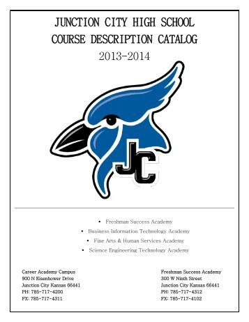 JCHS 2013-2014 Course Description Catalog - Geary County ...