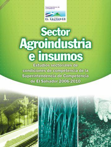 Estudios sectoriales de condiciones de competencia de la ...