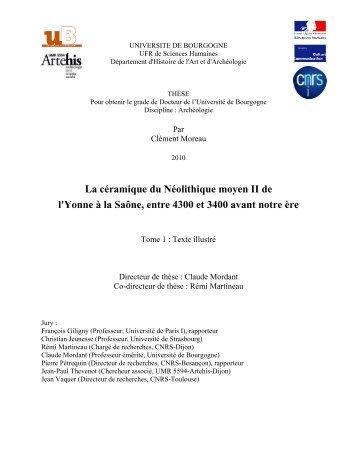 lien internet volume 1 - Université de Bourgogne