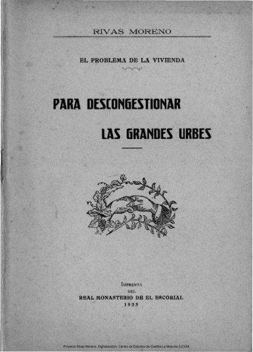 El problema de la vivienda - Universidad de Castilla-La Mancha