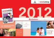 metallzeitung - Zweiplus Medienagentur