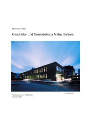 Geschäfts- und Gewerbehaus Meba, Balzers