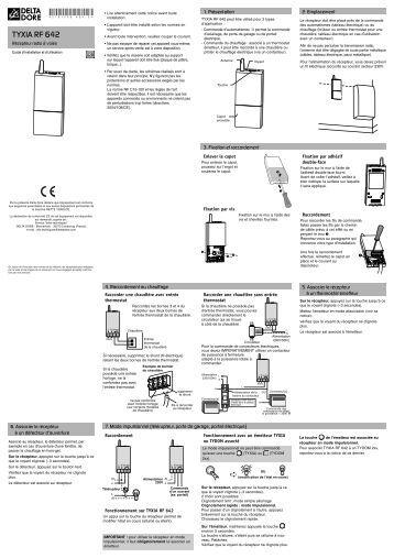 Bodet microquartz Delta 2 Manual