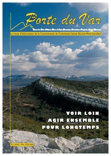 Bulletin n°01 - Communauté de communes Sainte-Baume Mont ...