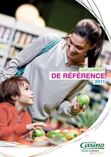 Document de référence 2011 - Groupe Casino