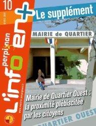 Mairie de quartier Ouest : la proximité plébiscitée par - Perpignan la ...