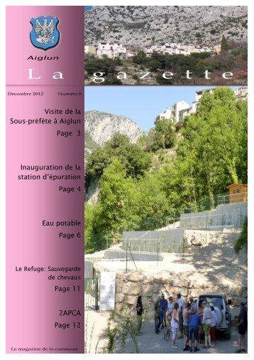 La Gazette N°6 - Aiglun