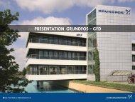 notre présentation société - Grundfos