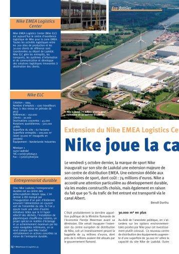 Extension du Nike EMEA Logistics Cent - Imust.be