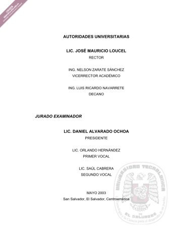 Páginas Preliminares. - Biblioteca UTEC