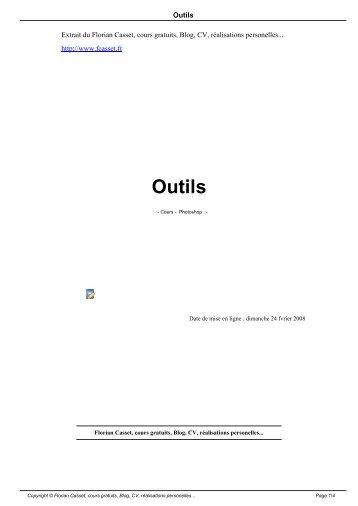 Outils - Florian Casset - cours gratuits - Blog