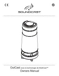 Owners Manual - Soundcast