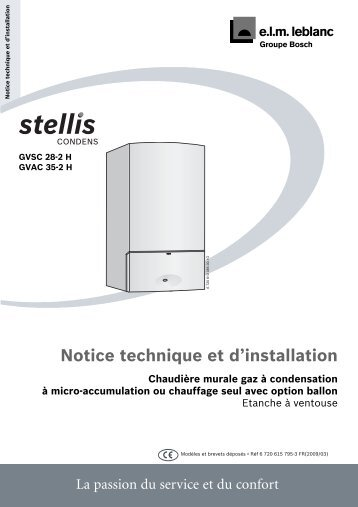 Notice technique et d'installation