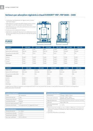 Caractéristiques techniques [PDF 538 KB] - BEKO TECHNOLOGIES ...