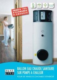 ballon eau chaude sanitaire sur pompe a chaleur - FFC Chauffage