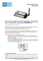 Guide de prise en main Miniplex-2wi - iPadNav.fr