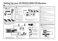Pioneer DCS-222 User Guide Manual - Cinema System Manual
