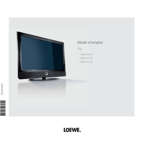 Mode d'emploi TV - Loewe