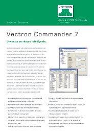 Vectron Commander 7 - Vectron Systems AG