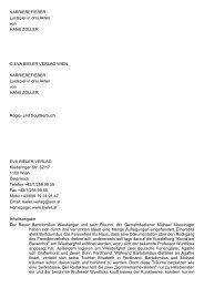 KARRIEREFIEBER Lustspiel in drei Akten von HANS ZOLLER ...