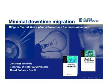 minimal downtime migration