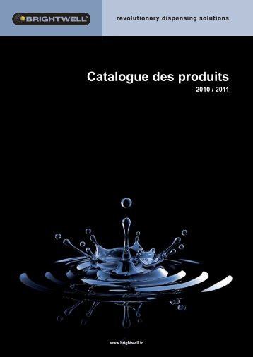 Catalogue des produits - Brightwell Soap Dispensers