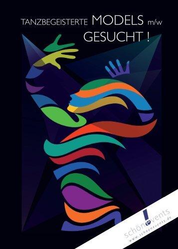 Download Flyer: Tanzbegeisterte Models gesucht - schönevents