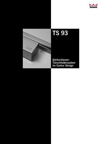 Gleitschienen- Türschließersystem im Contur Design - Krakow-Shop