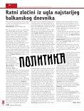 INTERVJU - KARLA DEL PONTE: SPREMNA SAM ZA PROMENE ... - Page 6