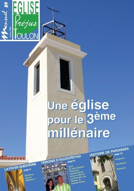 Une église 3 millénaire - Diocèse de Fréjus-Toulon