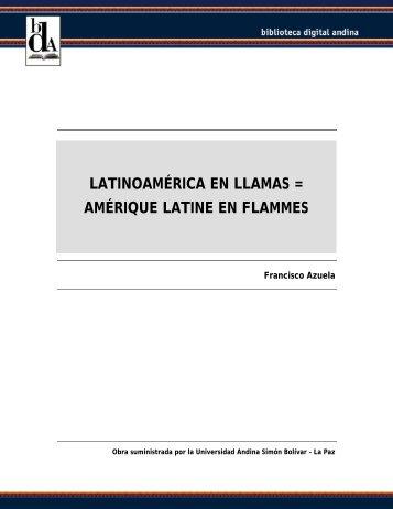 Latinoamérica En Llamas Amérique Latine En Flammes